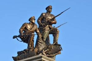 Monument to the Heroes of the First world war. Kaliningrad (formerly Koenigsberg), Russia